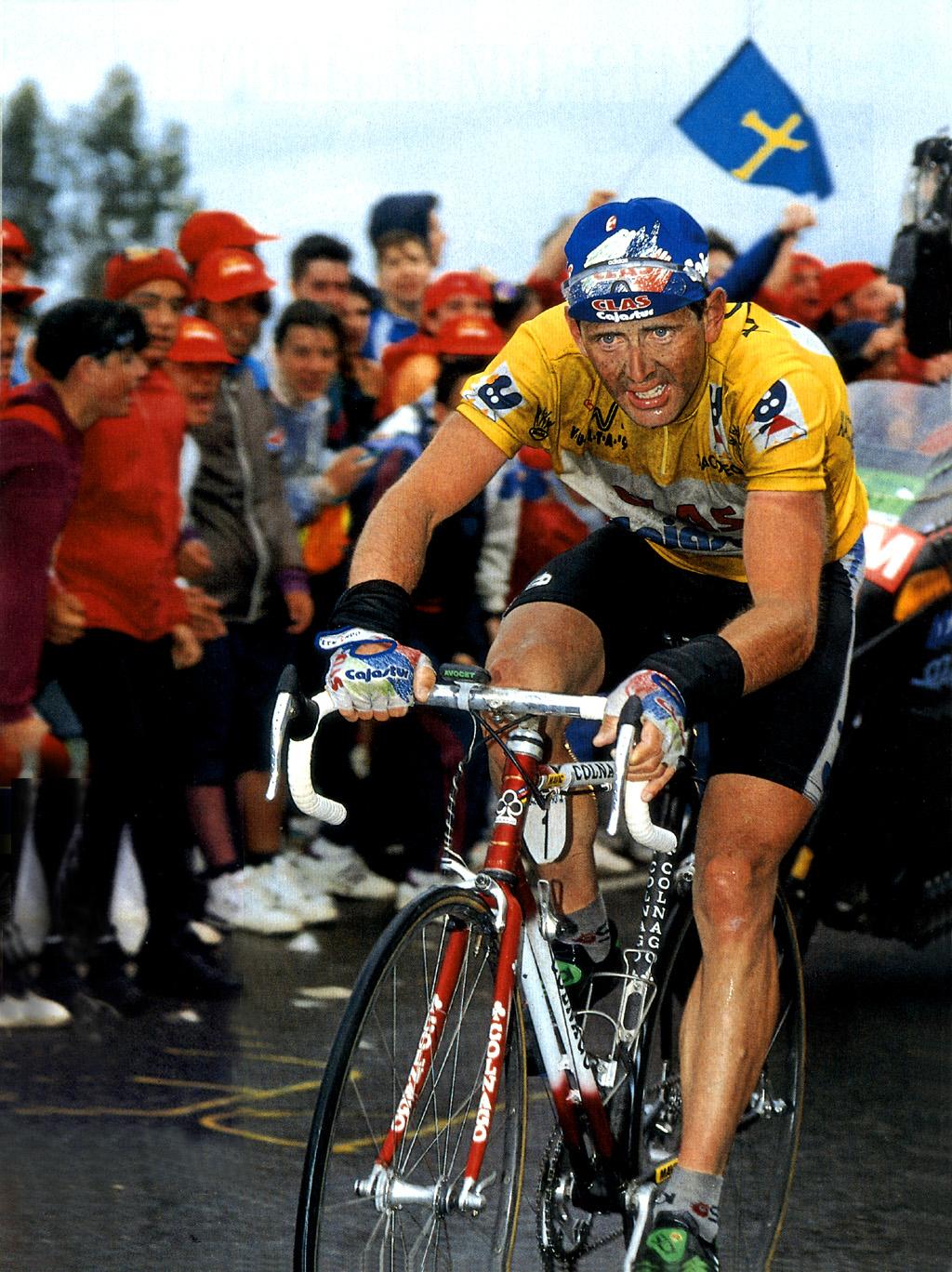 Vuelta 93; la apoteosis final del Clas-Cajastur