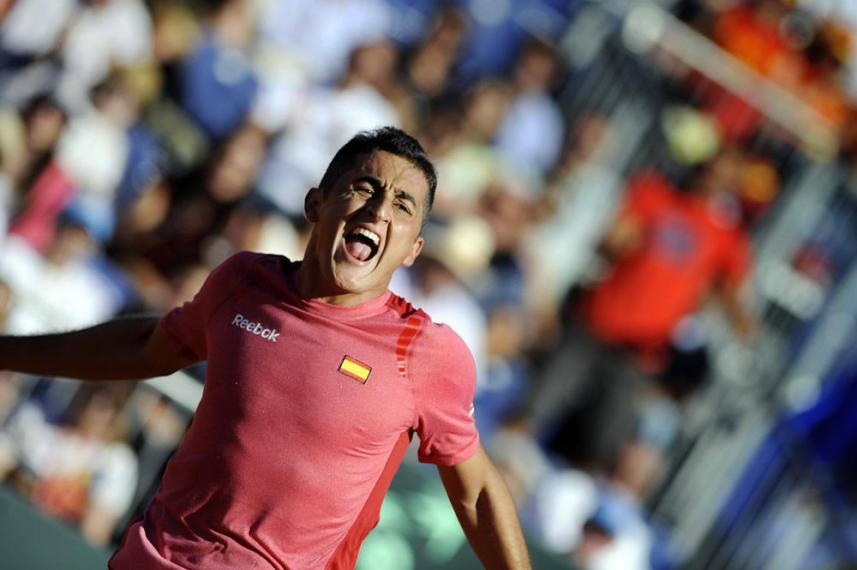 Copa Davis: Almagro pone a España en ebullición