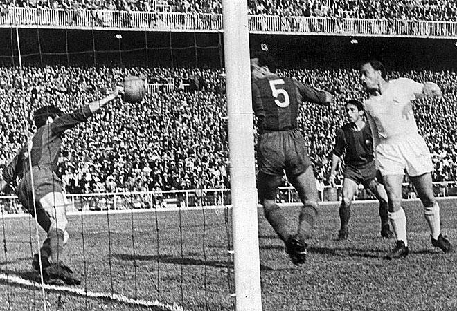 Serial Clásicos FC Barcelona - Real Madrid en Copa: 1956/57 – El Barcelona pasa a semifinales goleando al Madrid de Di Stéfano