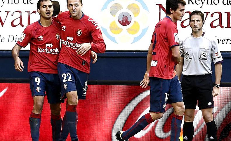 Osasuna consigue su primera victoria cebándose contra el Levante