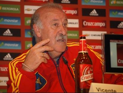 """Del Bosque: """"Si pudiera, me llevaría a todos a la Eurocopa"""""""