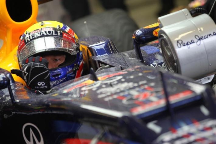 Webber cambia la caja de cambios en el GP de Bélgica