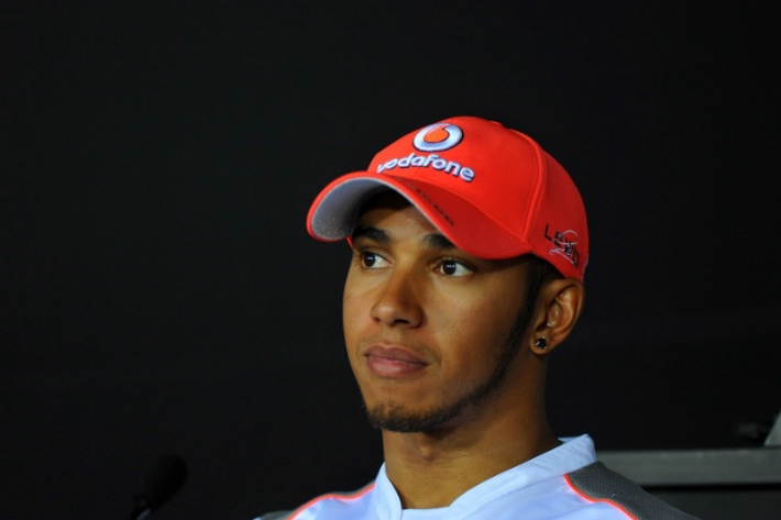 """Hamilton: """"Estoy muy contento por el equipo, por Jenson y por mí"""""""