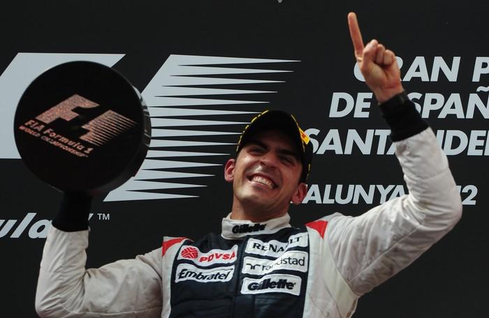 Primera victoria en Fórmula 1 para Pastor Maldonado en el GP de España