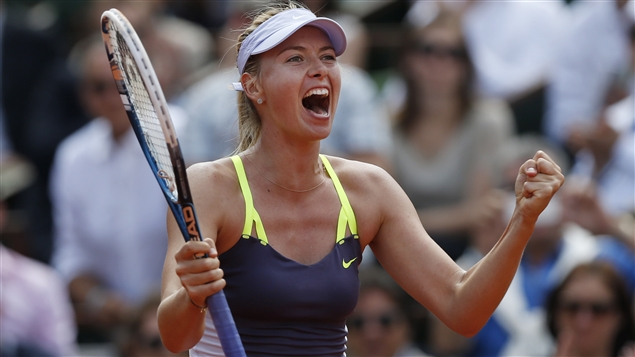 Sharapova encore au rendez-vous