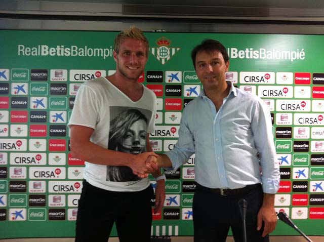 Damien Perquis, oficialmente nuevo jugador del Betis