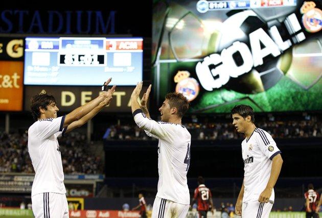 Goles y buenas sensaciones en la pretemporada del Real Madrid