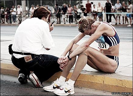 Atenas 2004: una odisea olímpica vista desde las lágrimas de Paula Radcliffe