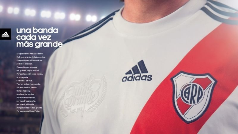 La nueva indumentaria riverplatense 2012 - 2013