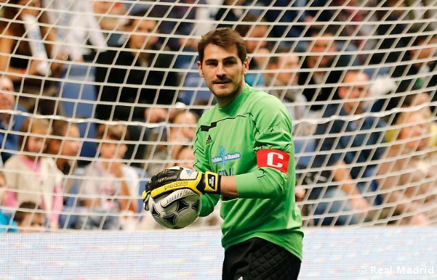 """Iker Casillas: """"Me dieron todo el apoyo los compañeros"""""""