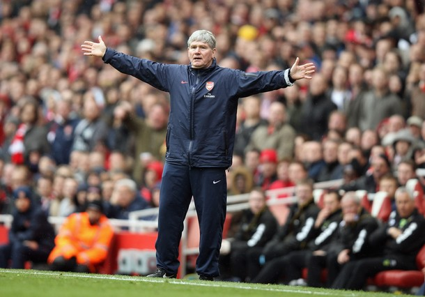 Pat Rice quitte Wenger