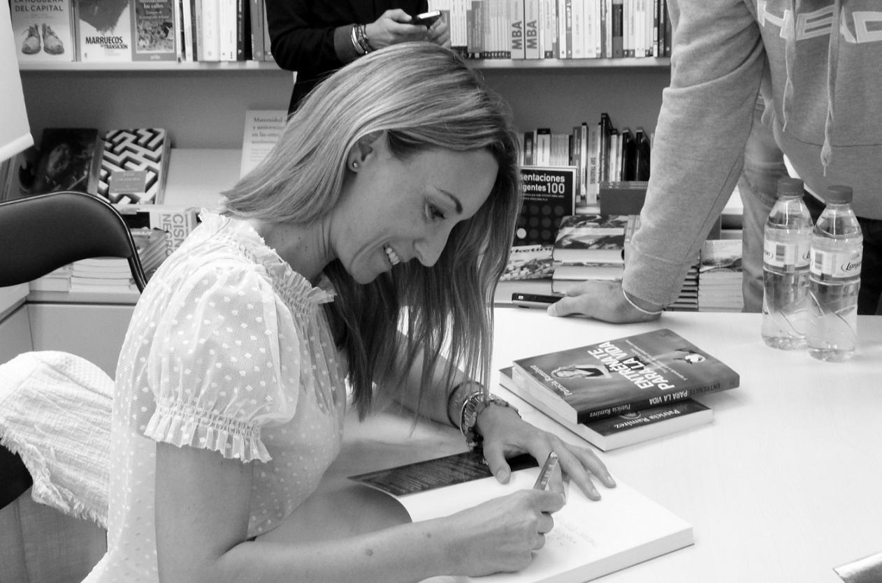 """Patricia Ramírez: """"Mi libro ayuda a superar el fracaso"""""""