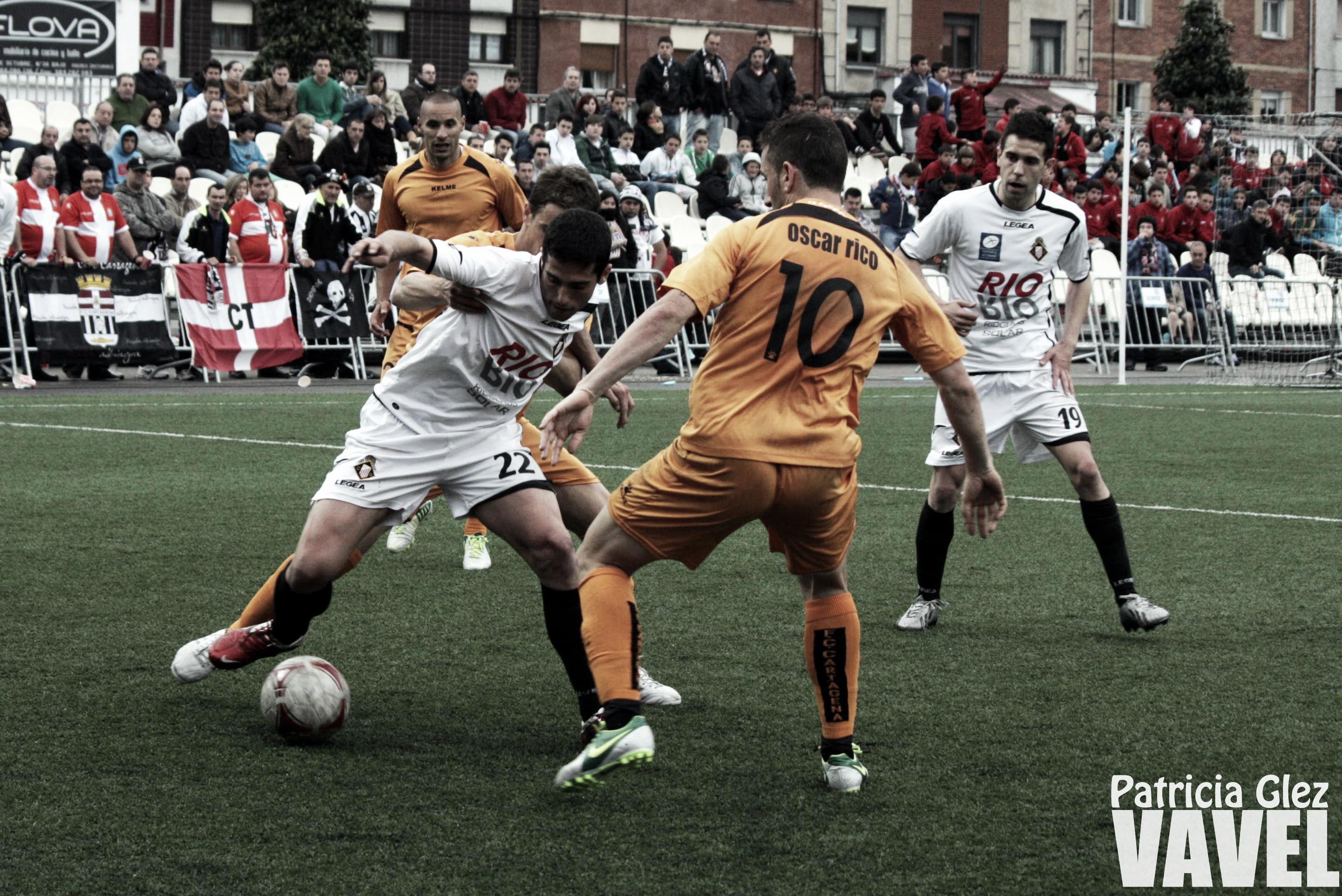 Caudal Deportivo 0 - 0 FC Cartagena: poco fútbol en el debut de Campos