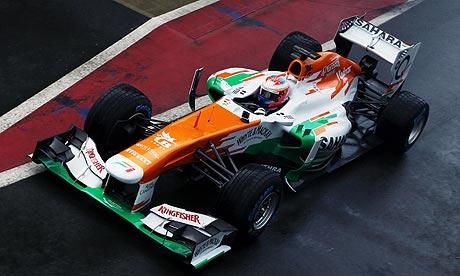 F1: Di Resta disqualifié des qualifs