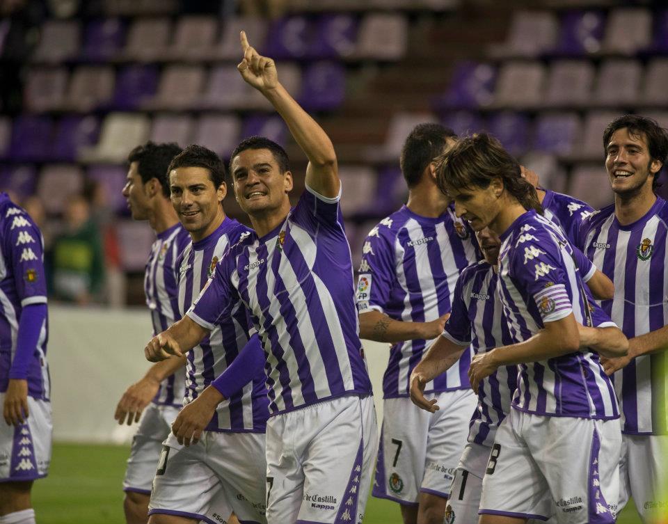 El Valladolid gana por inercia