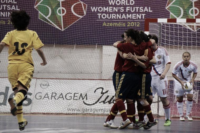 III Mundial de fútbol sala femenino: golpe de autoridad de España y Brasil