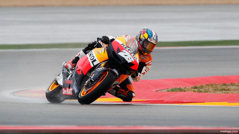 Pedrosa, el más rápido en la última sesión de libres en Motorland