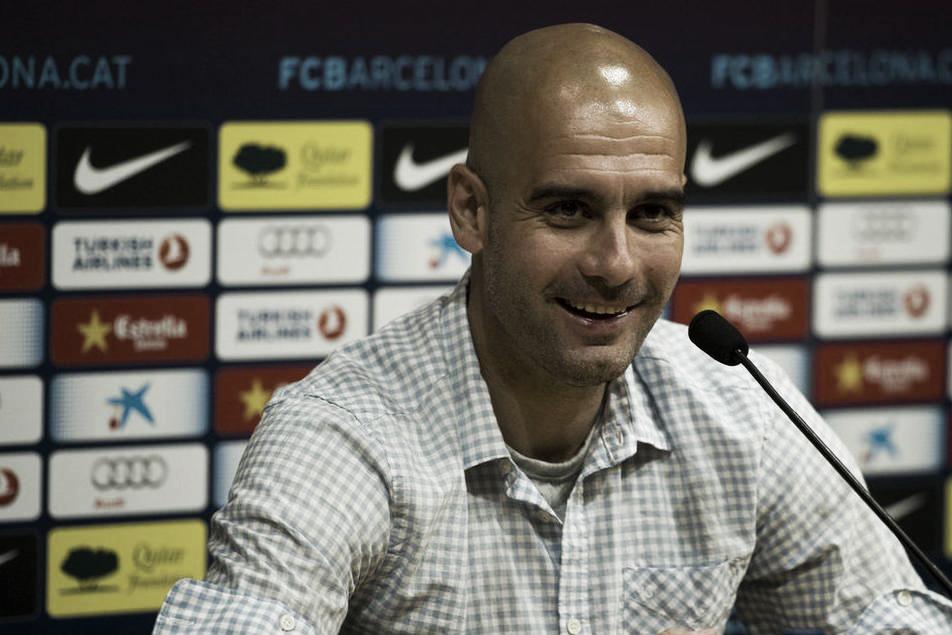 """Guardiola: """"Mañana hay un partido de fútbol, nada más, que sea mi último partido es secundario"""""""