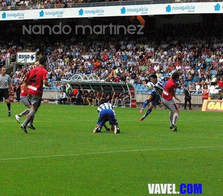 Deportivo 2 - Osasuna 0: Un triunfo de Primera