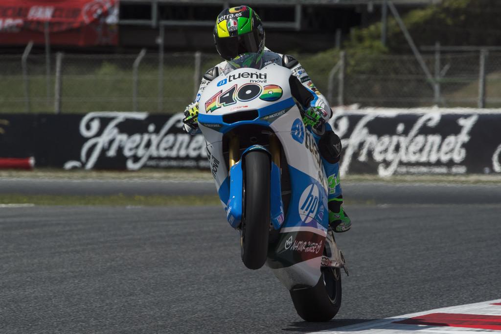 Moto2, al Montmeló la pole è di Espargaró