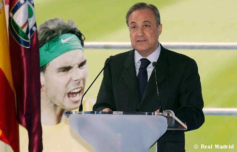 "Florentino Pérez: ""Ganar esta Liga ha sido un orgullo"""