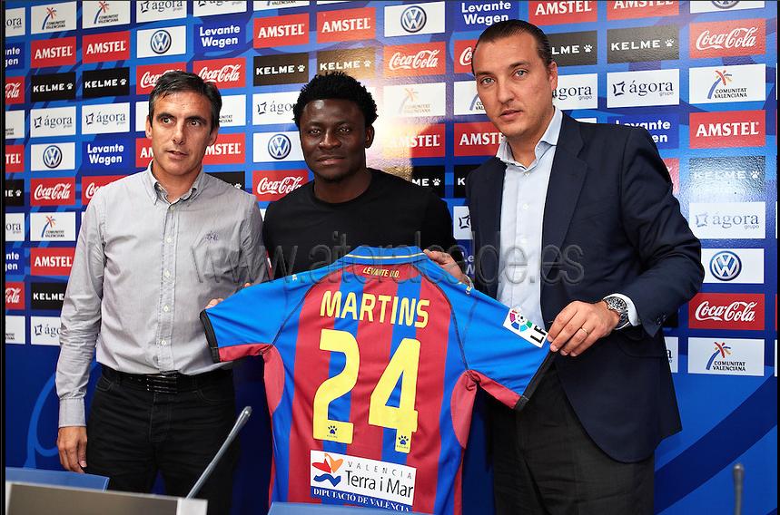Martins: ''Estoy feliz por estar aquí''