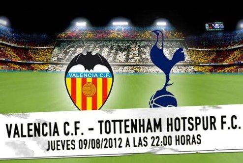 El Valencia se presenta ante el Tottenham