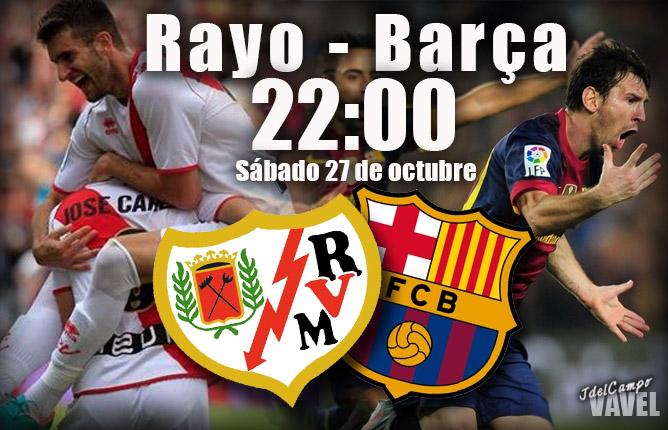 Rayo Vallecano - FC Barcelona: el líder visita Vallecas