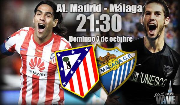 Atlético de Madrid-Málaga: en busca de la licencia para soñar