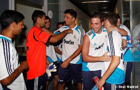 El Real Madrid 2012/13 se pone en marcha