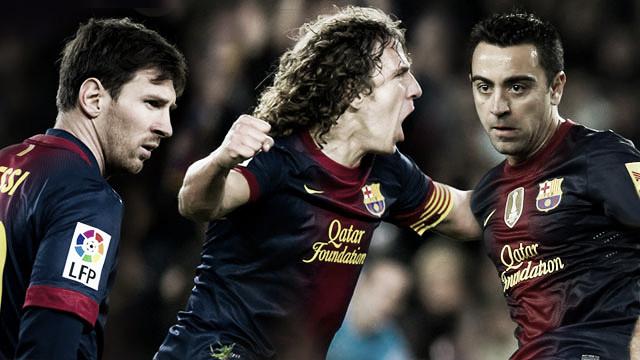 El Barcelona renueva a Xavi, Puyol y Leo Messi