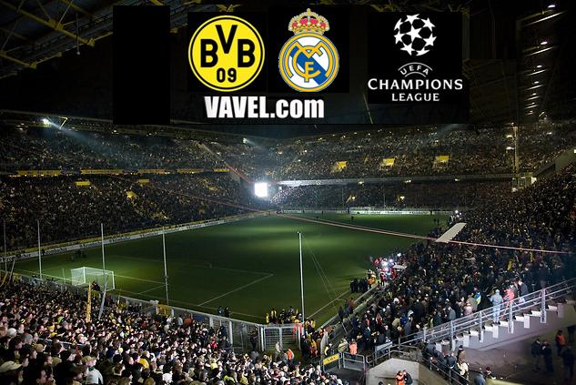 Resultado Borussia Dortmund - Real Madrid en la Champions League 2013 (2-1)