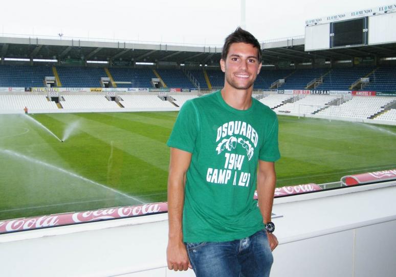 Adrián González firma con el Rayo Vallecano