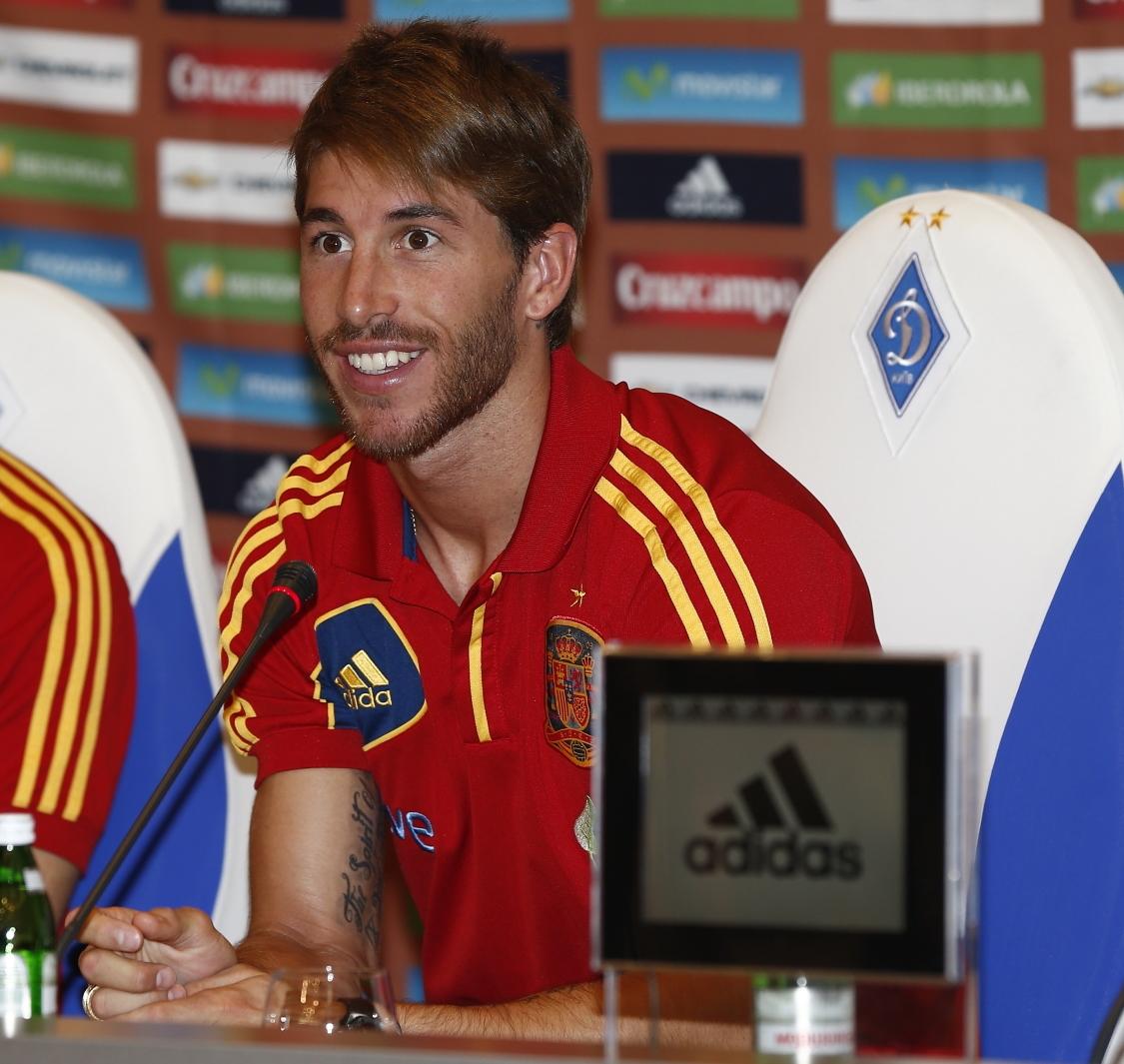 """Sergio Ramos: """"Italia ha llegado a la final por su atrevimiento"""""""