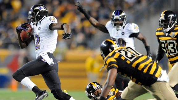 Baltimore vuela alto a costa de los Steelers
