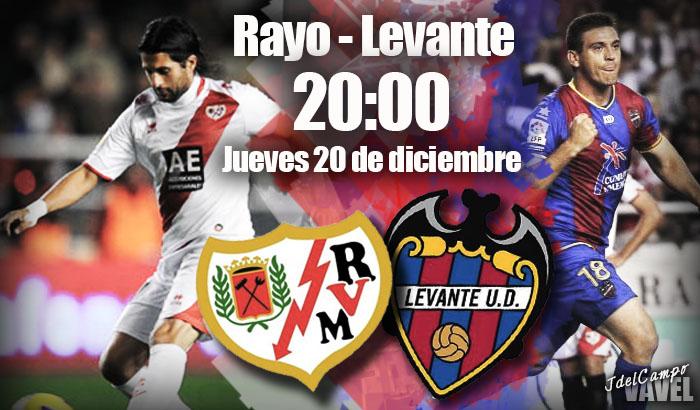 Rayo - Levante: a cenar tres puntos por Navidad
