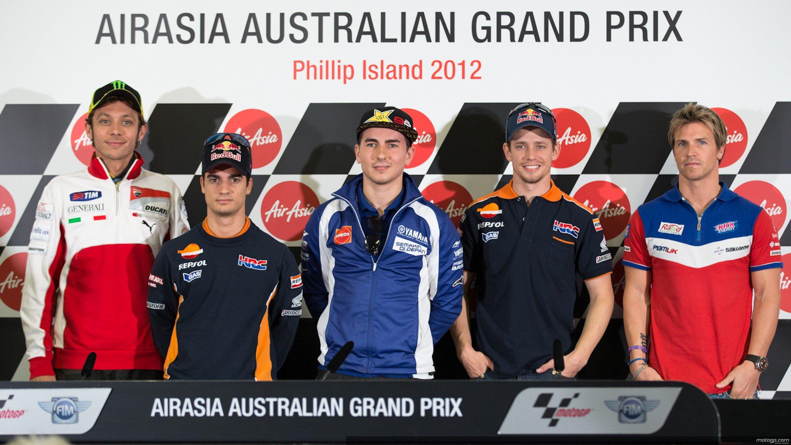 Rueda de prensa oficial del Gran Premio AirAsia de Australia