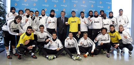 Real Madrid y Sanitas, juntos hasta 2015