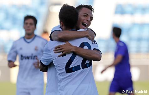 El Real Madrid Castilla empata en el descuento al Alcorcón, así lo vivimos