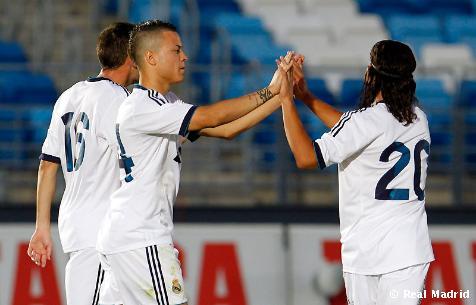 El Castilla evita la derrota en el último minuto