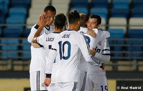 RM Castilla - UD Las Palmas: puntuaciones RM Castilla, jornada 9