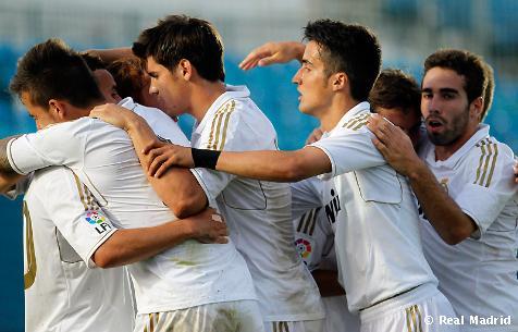 El Castilla se  proclama campeón de Segunda B ante el Mirandés