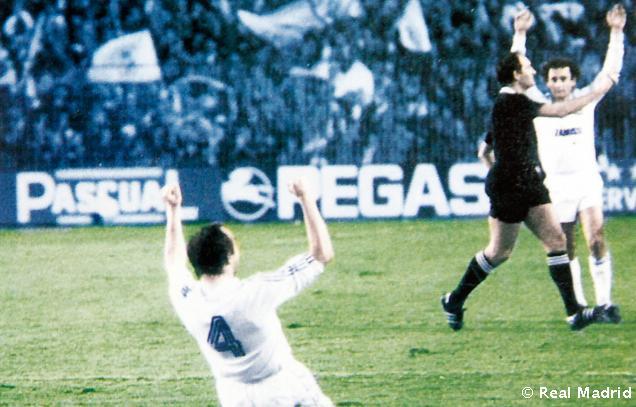 Remontadas históricas: Real Madrid  Anderlecht 1984/85, Butragueño y Valdano lideraron la remontada con sendos dobletes