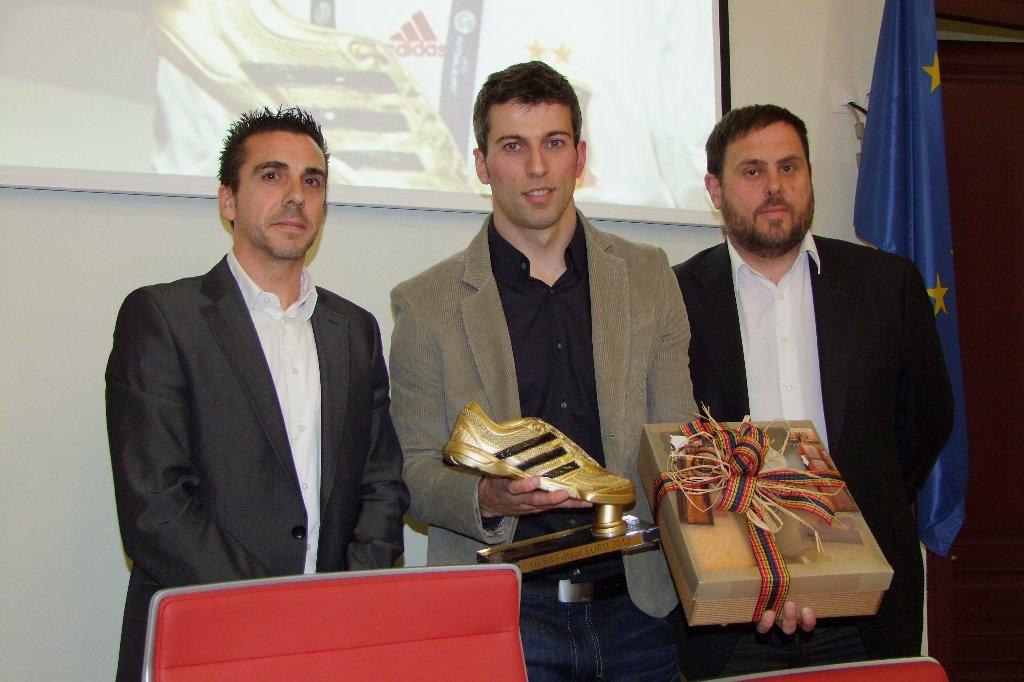 Jordi Torras recibe un merecido homenaje en su localidad, Sant Vicenç dels Horts