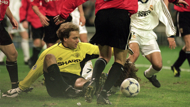 Serial Real Madrid - Manchester United: 1999/2000,  Bosnich mantiene vivo al United