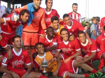 El Sporting gana al Deportivo en el Trofeo Emma Cuervo
