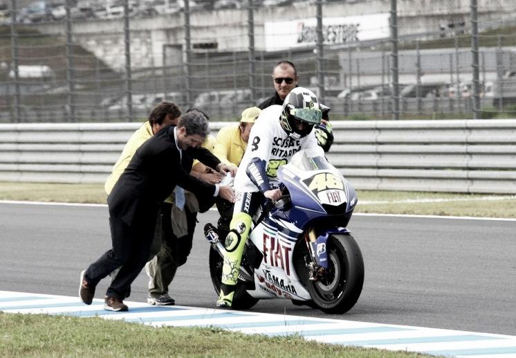 Serial 10 años de MotoGP: 2008, el retorno del rey