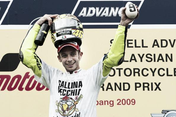 Serial 10 años de MotoGP: 2009, el último suspiro de Valentino Rossi