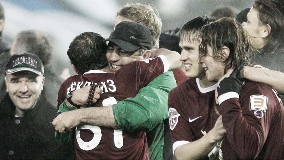 Así juega el Rubin Kazan, rival del Atlético de Madrid en la Europa League