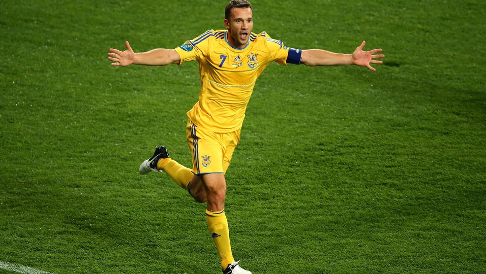 Shevchenko I de Ucrania: El Rey Gol